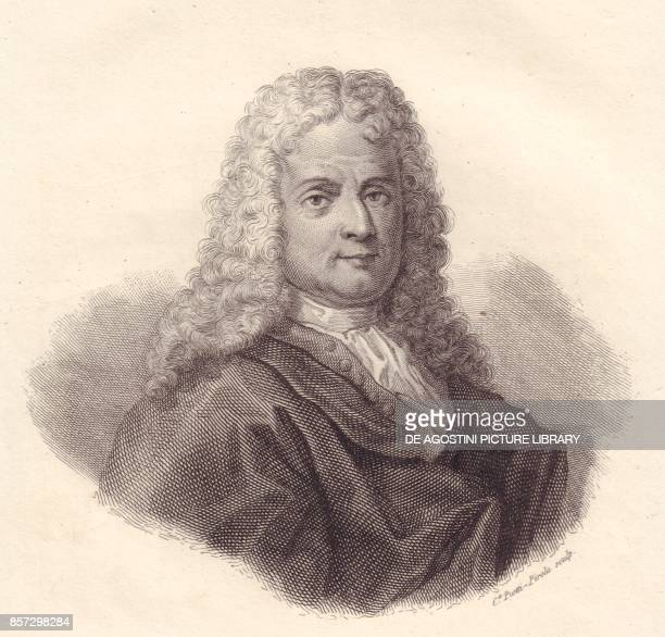 Portrait of the Italian mathematician Jacopo Riccati copper engraving by Caterina PiottiPirola from Iconografia italiana degli uomini e delle donne...