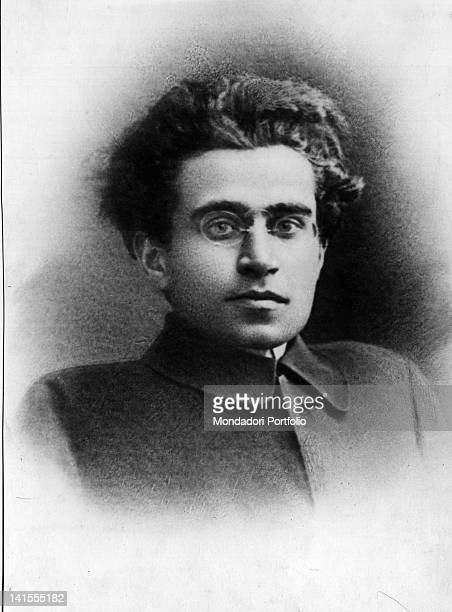 Portrait of the Italian philosopher and politician Antonio Gramsci 1930s