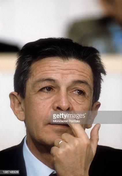 Portrait of the Italian politician and secretary of the Italian Communist Party Italy 1984