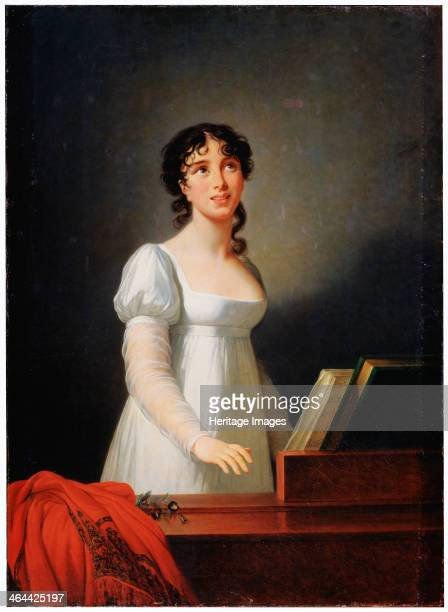'Portrait of the Italian singer Angelika Catalani' late 18th or early 19th century Angelica Catalani was a soprano opera singer After making her...