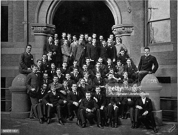 Portrait of the Johns Hopkins University Class of 1892 Baltimore Maryland 1892 Waidner Charles William Hutton Robert Ernest Boynton George Edward...