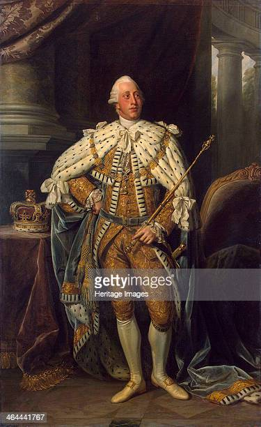 Portrait of the King George III of the United Kingdom' 1773 Dance Sir Nathaniel Found in the collection of the State Hermitage St Petersburg