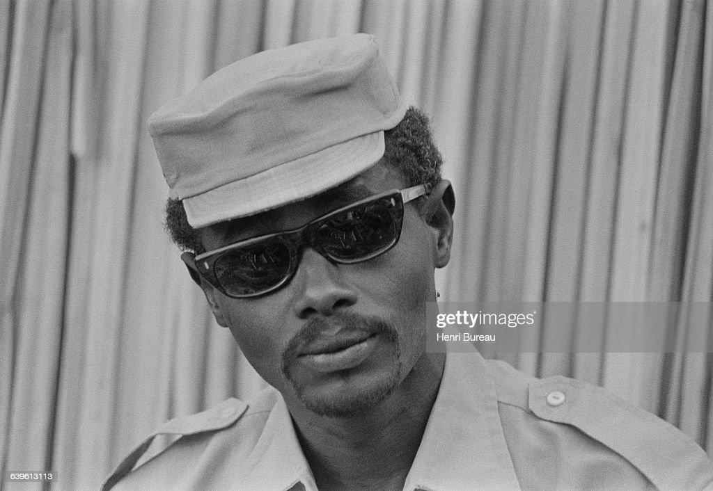 Portrait of Hissène Habré : Nieuwsfoto's