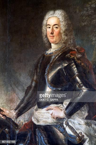 Portrait of the Marquis de Saillant de Largilliere Chateau de Ravel Auvergne France