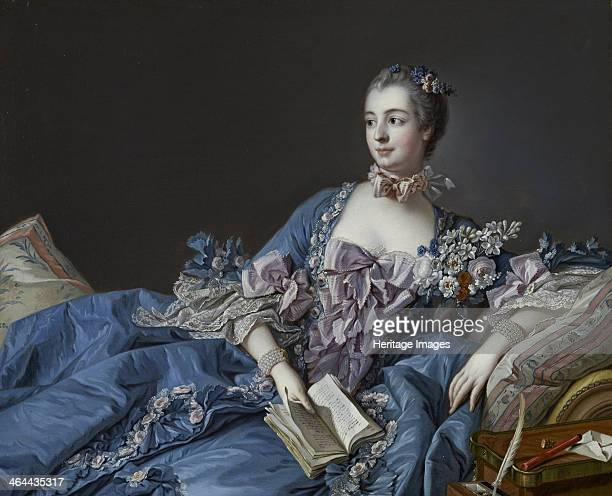 Portrait of the Marquise de Pompadour ca 1758 Found in the collection of the National Gallery of Scotland Edinburgh
