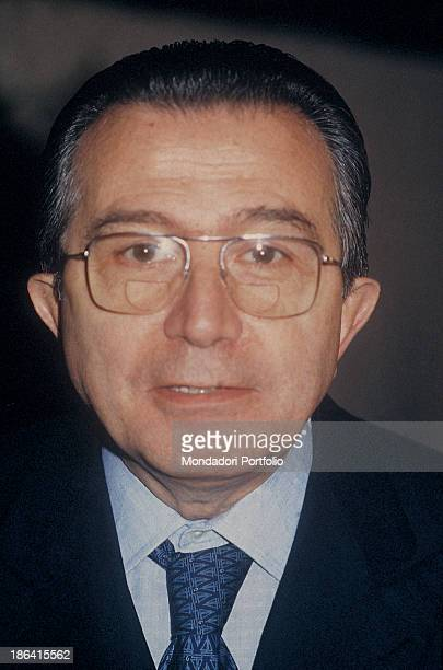 Portrait of the Ministry of Foreign Affairs of the Italian Republic Giulio Andreotti 1987