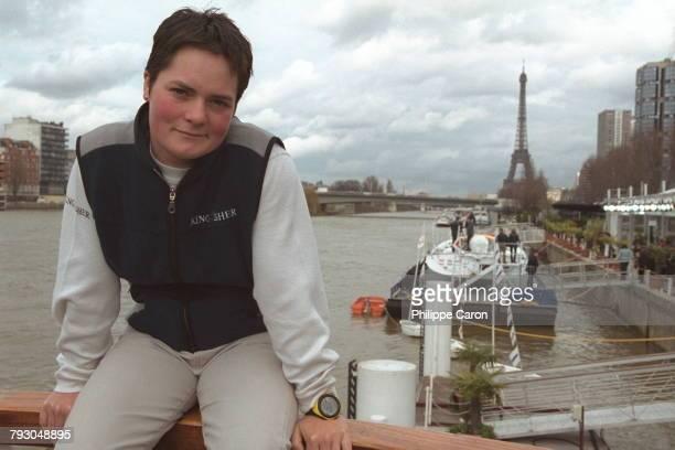 Portrait of the navigator taken on quai de Javel