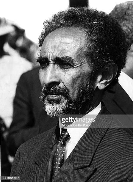 Portrait of the Negus of Ethiopia Haile Selassie I Addis Ababa 14th November 1966
