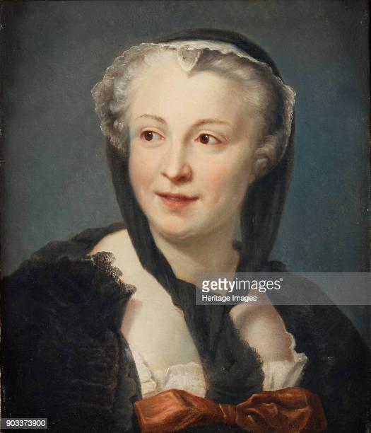 Portrait of the novelist Françoise de Graffigny Private Collection