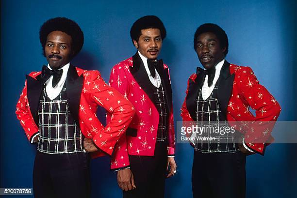 Portrait of The O'Jays American RB group from Canton Ohio 1975
