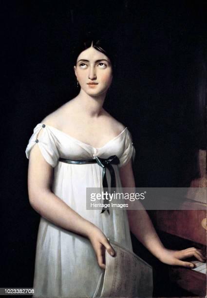 Portrait of the opera singer Giuditta Pasta , née Negri, circa 1821. Found in the Collection of Museo Teatrale alla Scala.