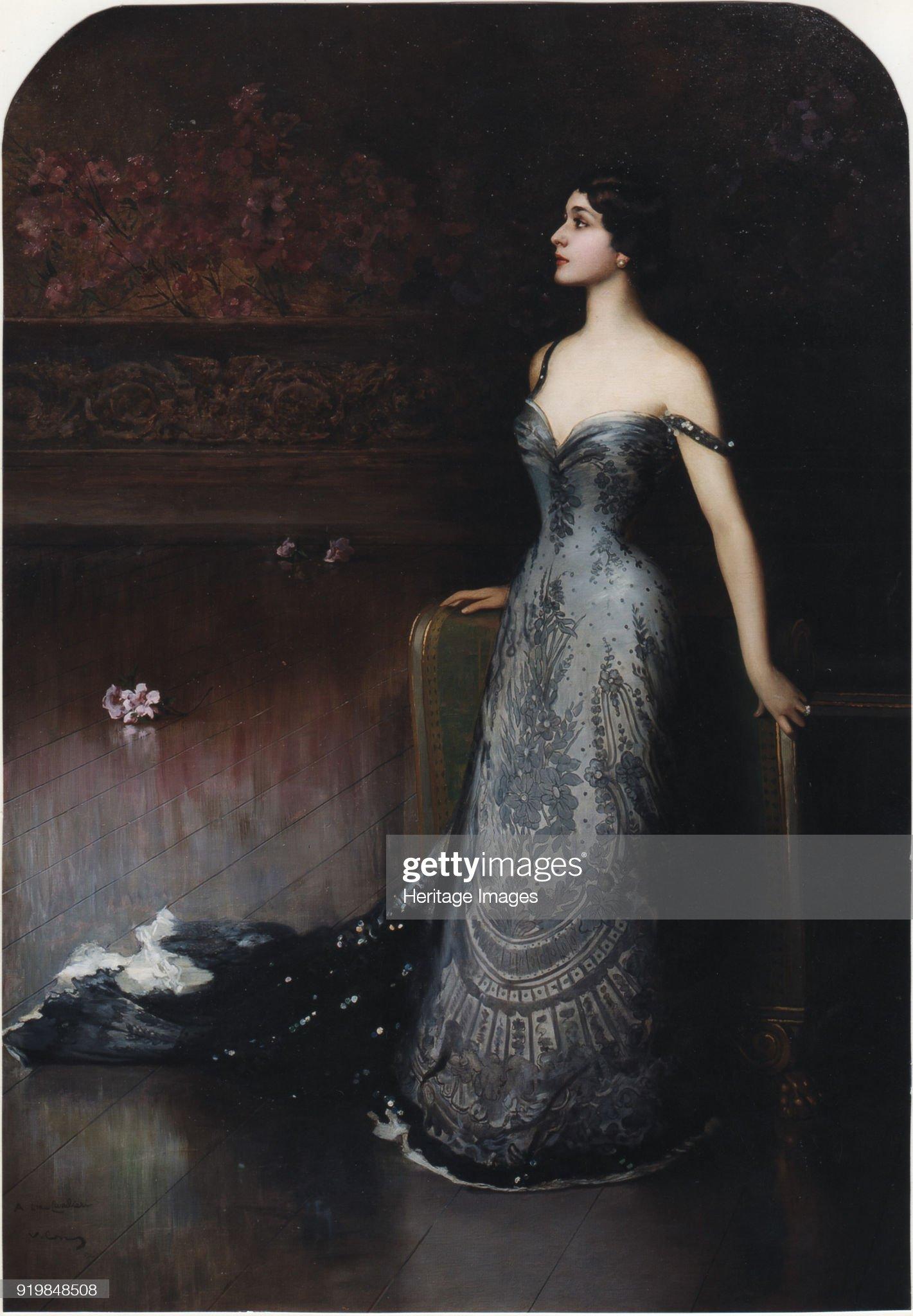Portrait Of The Opera Singer Lina Cavalieri (1874-1944) : News Photo
