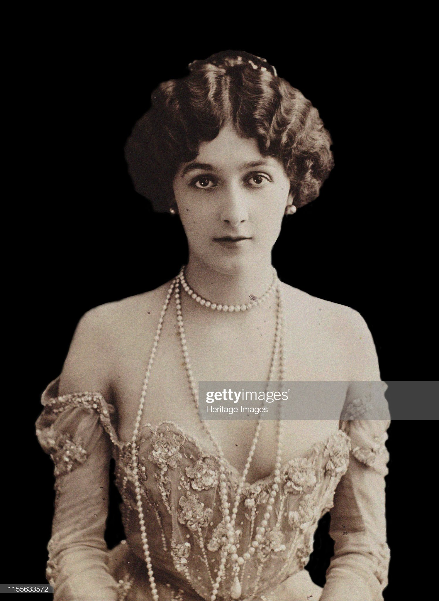 Portrait Of The Opera Singer Lina Cavalieri (1874-1944) Creator: Photo Studio Reutlinger : News Photo