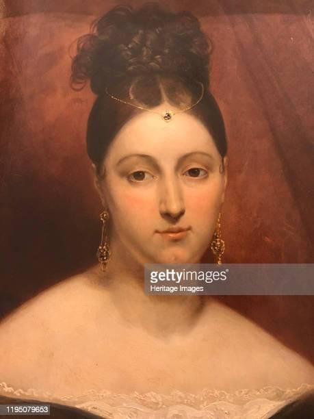 Portrait of the opera singer Maria Malibran , 1831. Found in the Collection of Musée de la Vie romantique, Paris. Artist Scheffer, Ary .