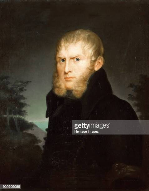 Portrait of the Painter Caspar David Friedrich. Found in the Collection of Staatliche Museen, Berlin.