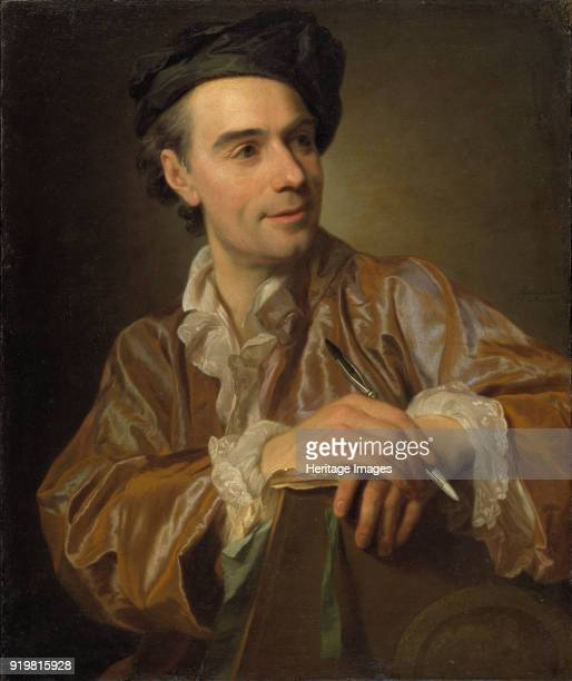 Portrait of the painter ClaudeJoseph Vernet 1767 Found in the collection of Nationalmuseum Stockholm