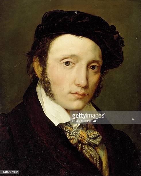 Portrait of the painter Federico Moja by Vitale Sala , oil on canvas, 40x35 cm. ; Milano, Civiche Raccolte D'Arte Museo Dell'Ottocento Villa...