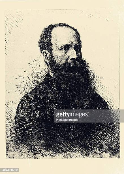 Portrait of the painter Vasili Vereshchagin 1882 Found in the collection of the State A Pushkin Museum of Fine Arts Moscow