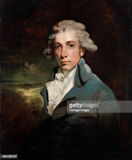 Portrait of the playwright and Whig statesman Richard Brinsley Sheridan' Hoppner John Found in the collection of the State Hermitage St Petersburg