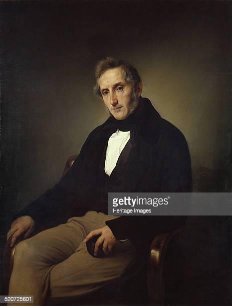 Portrait of the poet Alessandro Manzoni Found in the collection of Pinacoteca di Brera Milan