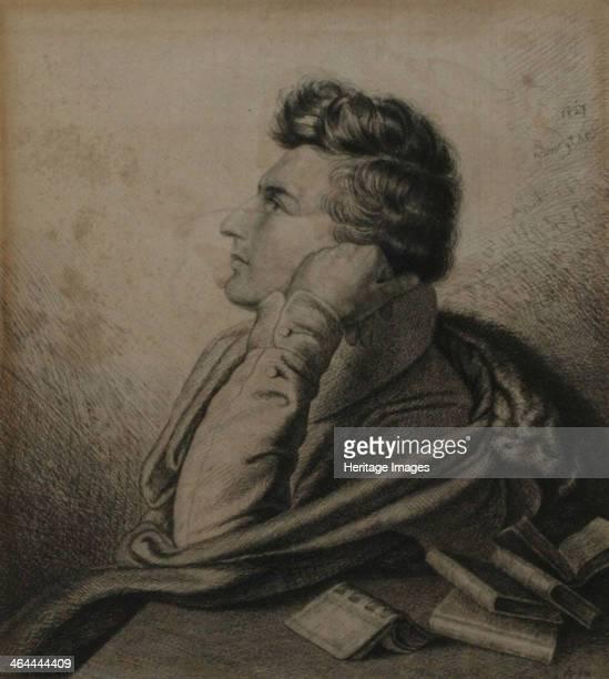 Portrait of the poet Heinrich Heine 1827 Found in the collection of the HeinrichHeineInstitut Düsseldorf