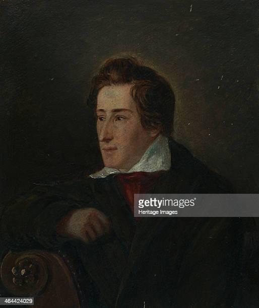 Portrait of the poet Heinrich Heine 1831 Found in the collection of the HeinrichHeineInstitut Düsseldorf