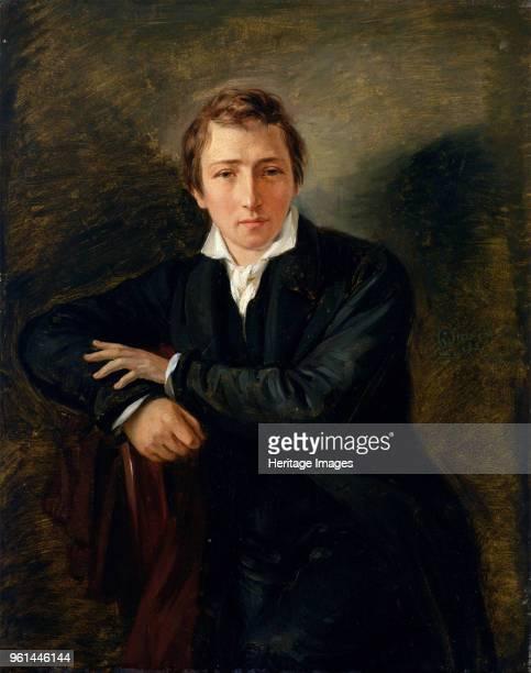 Portrait of the poet Heinrich Heine 1831 Found in the Collection of Kunsthalle Hamburg