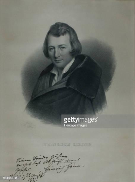 Portrait of the poet Heinrich Heine 1839 Found in the collection of the HeinrichHeineInstitut Düsseldorf