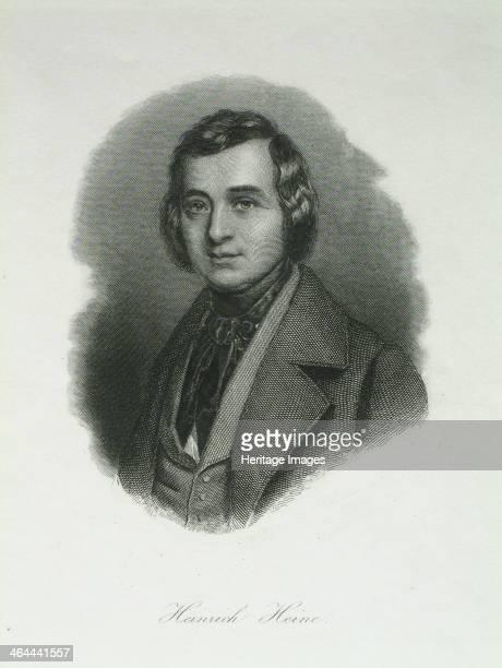 Portrait of the poet Heinrich Heine 1842 Found in the collection of the HeinrichHeineInstitut Düsseldorf