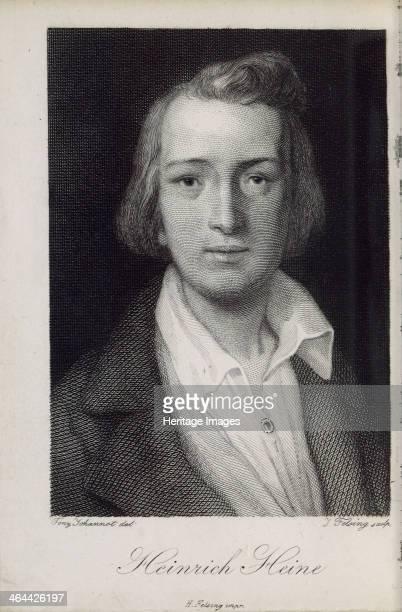 Portrait of the poet Heinrich Heine 1850 Found in the collection of the HeinrichHeineInstitut Düsseldorf