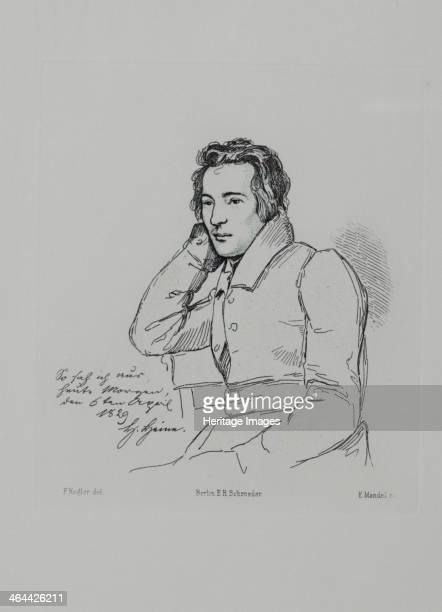 Portrait of the poet Heinrich Heine After Franz Kugler from 1829 1854 Found in the collection of the HeinrichHeineInstitut Düsseldorf