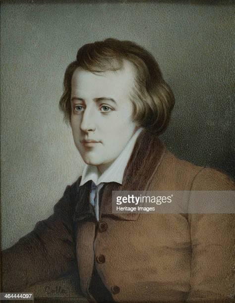 Portrait of the poet Heinrich Heine ca 1825 Found in the collection of the HeinrichHeineInstitut Düsseldorf