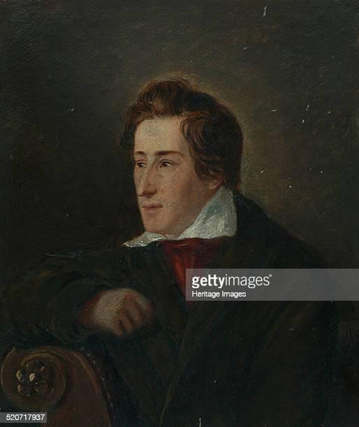 Portrait of the poet Heinrich Heine Found in the collection of HeinrichHeineInstitut Düsseldorf