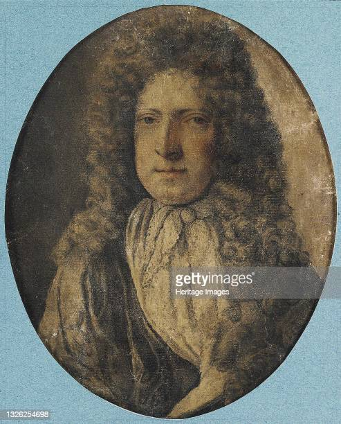 Portrait of the poet Nicholas Rowe , 17th century. Private Collection. Artist Anonymous.