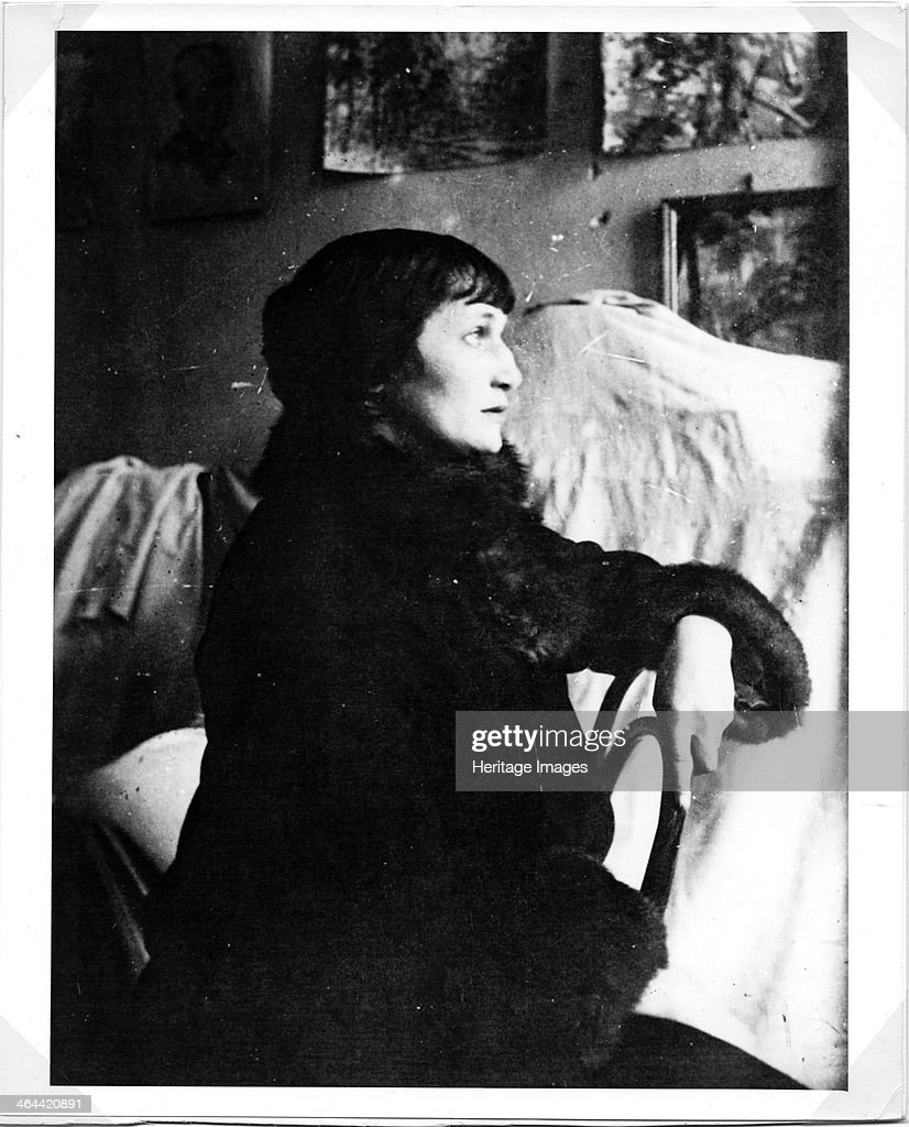 Portrait of the Poetess Anna Akhmatova
