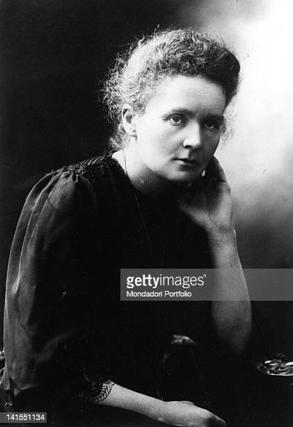Portrait of the Polishborn French physicist Marie Curie 1903