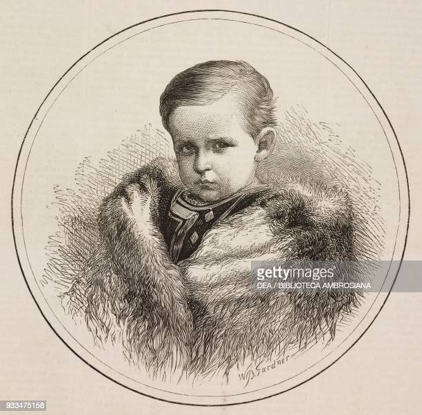 Portrait of the Prince Friedrich of Hesse and by Rhine son of the Princess Alice of the United Kingdom one of the daughters of Queen Victoria...