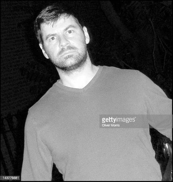 Portrait of the Pulitzer Prizenominated American photographer Chris Hondros at his home Brooklyn New York 2006
