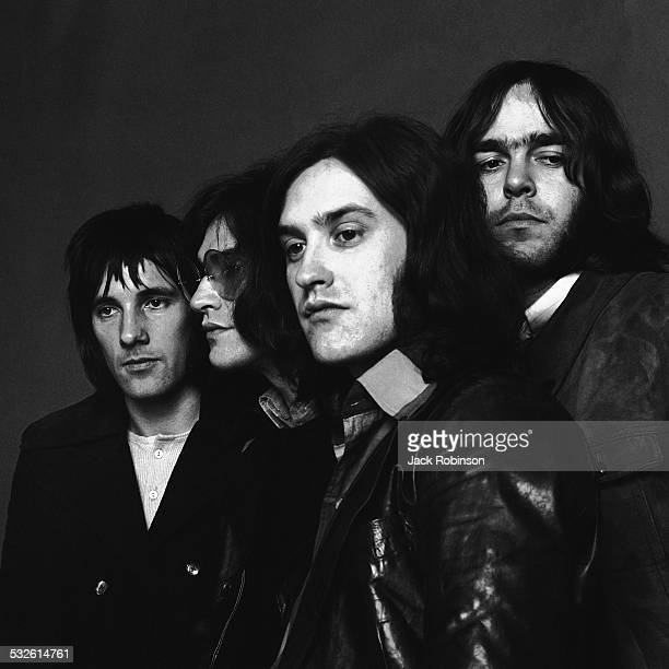 Portrait of the rock group The Kinks late 1960s or early 1970s