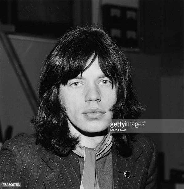 Portrait of 'The Rolling Stones' lead singer Mick Jagger December 10th 1968