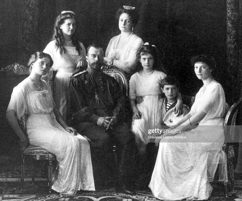 Portrait of the Romanov 1914 : News Photo