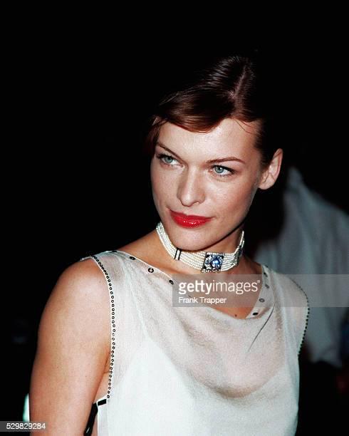 Portrait of the Russian actress Milla Jovovich
