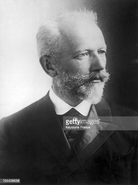 Portrait of the Russian composer Piotr Ilitch TCHAIKOVSKY around 1880