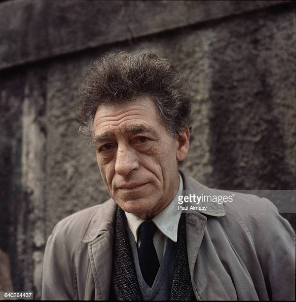 A portrait of the sculptor Alberto Giacometti France 1958