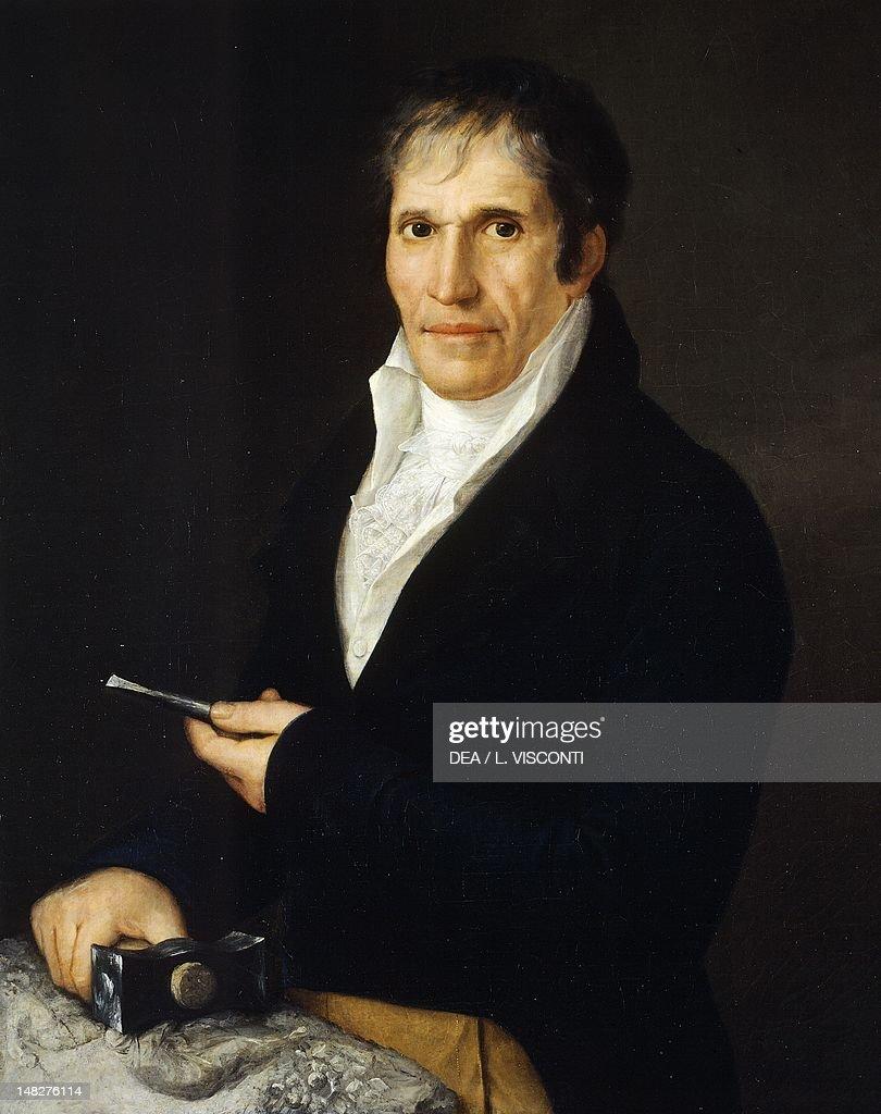 Portrait of the sculptor, Bartolomeo Carrea, by Rosa Bacigalupo Carrera (1794-ca 1854). (Photo by DeAgostini/Getty Images) : News Photo