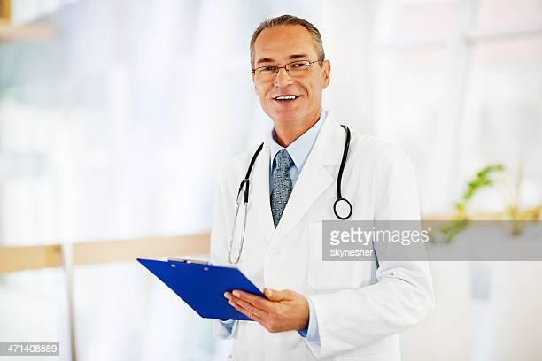 Porträt der leitende Ärztin.