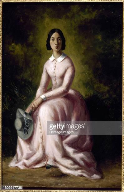 Portrait of the singer and composer Pauline Viardot . Found in the collection of Musée de la Vie romantique, Paris. Artist Sand , Maurice . .