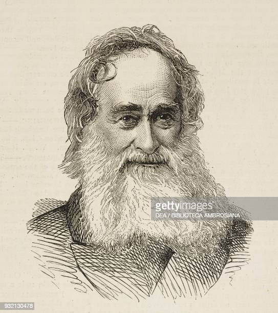 Portrait of the South African missionary Robert Moffat illustration from The Graphic volume XXVIII no 717 August 25 1883