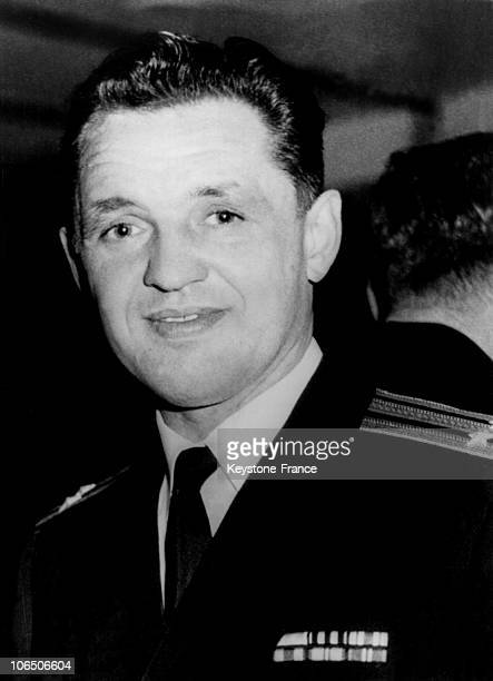 Portrait Of The Soviet Military Attache Eugene Ivanov On June 14 1963 The Navy Attache Would Have Asked The Bristish CallGirl Christine Keeler To Get...