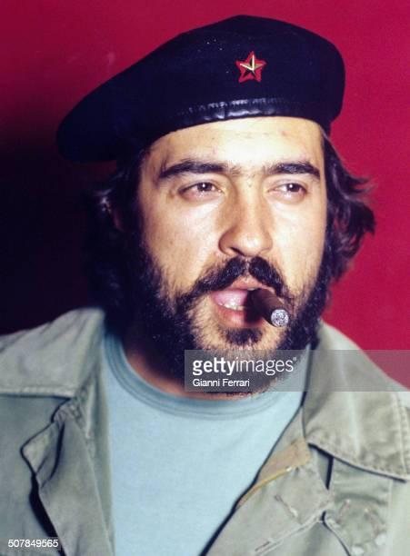 Portrait of the Spanish actor Patxi Andion 1981 Madrid Spain